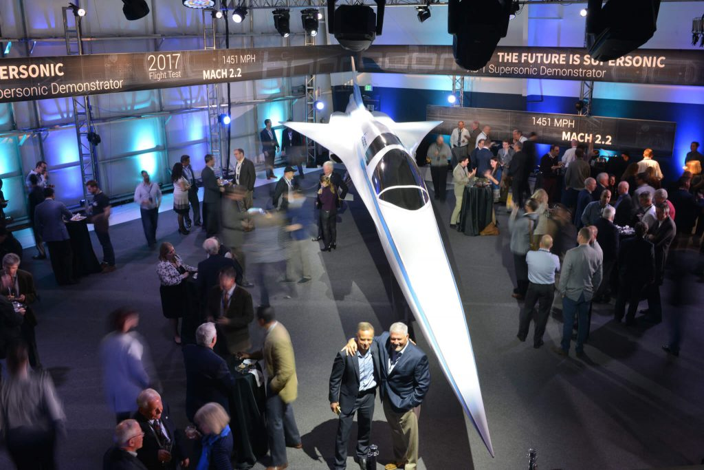 Boom Supersonic Passenger Airplanes
