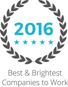 2016 Best and Brightest to work for