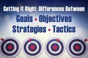 goals objectives strategies tactics